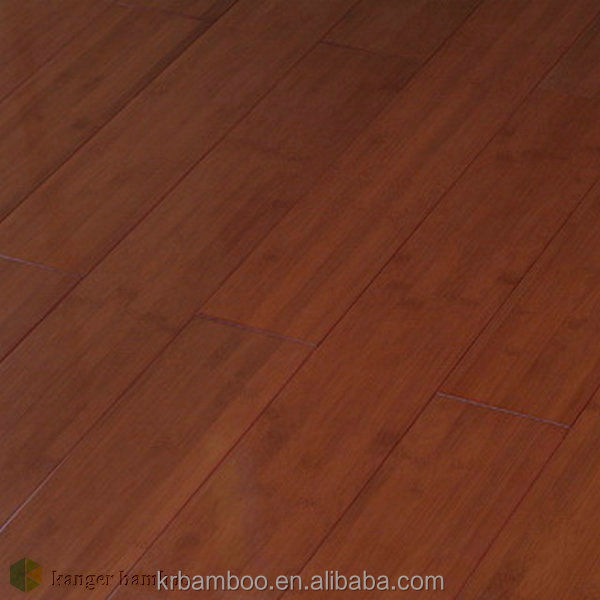 Chinese factory Supplied Coffee Color Stained Carbonized Solid Bamboo Flooring