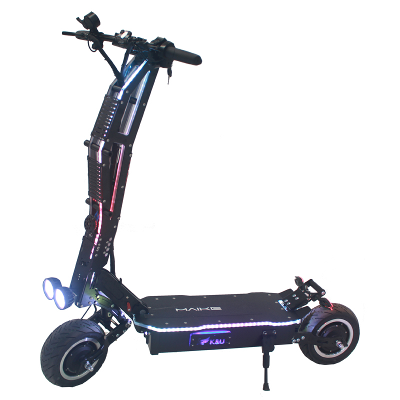 Maike SGT high quality 11inch 60v 5000W dual motor foldable off road electric scooter for adults
