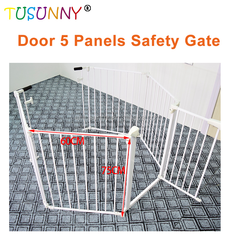 2018 curved sliding gate door grill gate automatic stacking gate