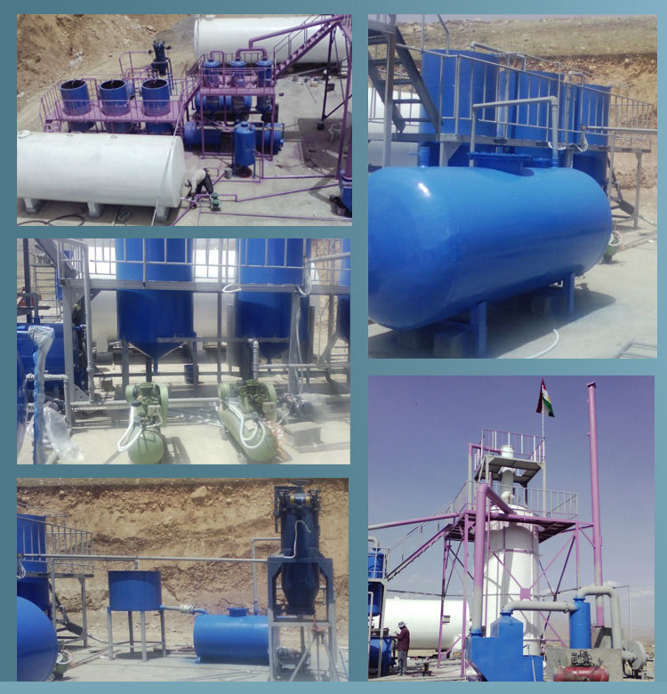 Highly automatic! Professional Waste tire and rubber recyling to fuel oil pyrolysis plant with BV&CE