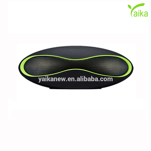 Yaika OEM Colorful Oval Shape Rugby Ball Bluetooth Speakerphone Support TF Card Radio