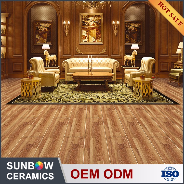 Roller printing attractive provide wood grain tile