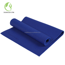 Standard pvc yoga mat with carrying strap