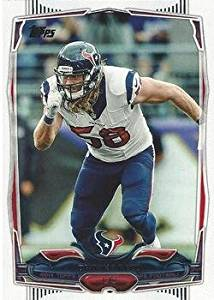 Brooks Reed 2014 Topps NFL Football Card #118 Houston Texans