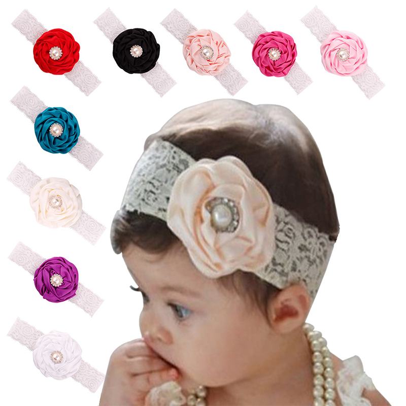 S10009G wholesale kids <strong>headband</strong>, baby headwear baby flower <strong>headbands</strong>