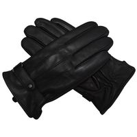 Factory Cheap Good Quality Leather Winter Gloves Warm Gloves sheepskin winter Leather Mittens Gloves