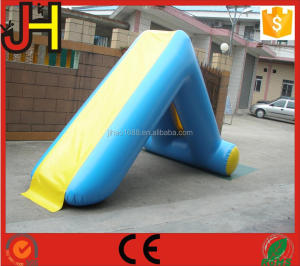High Quality Durable Inflatable L Shape Water Slide For Sale