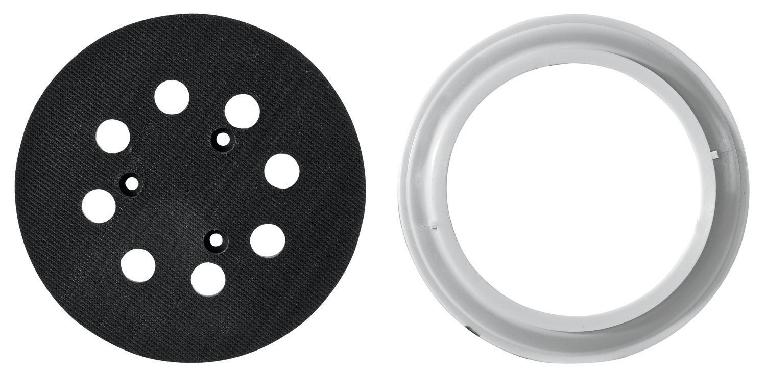 PORTER-CABLE 390001 5-Inch Hook and Loop 8-Hole Replacement Pad and Brake