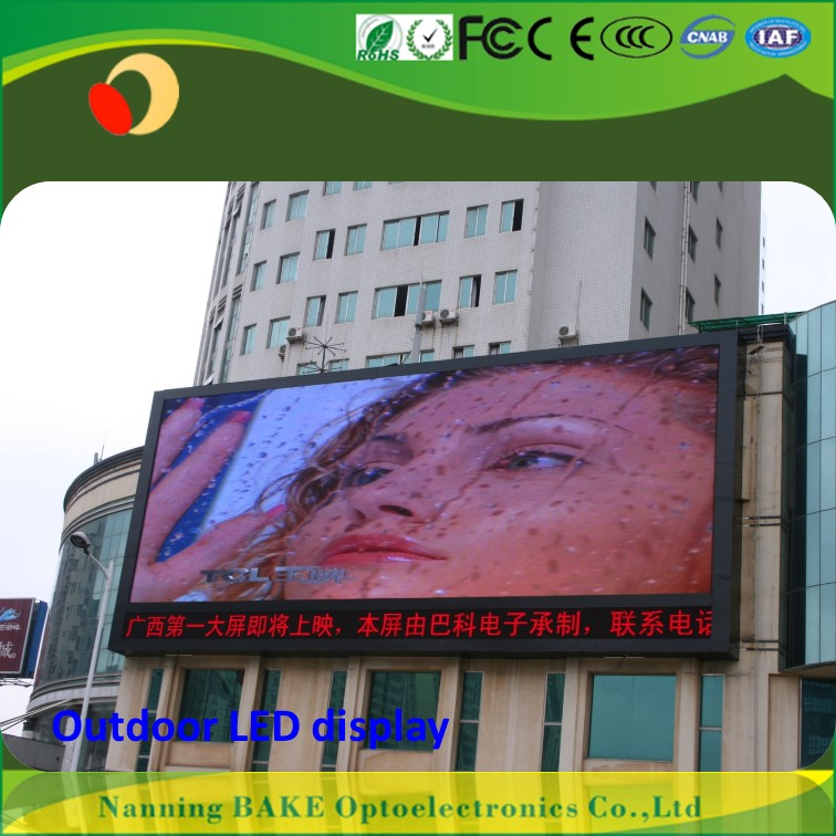 P10 outdoor fixed advertising led display p10 1r 32*16 led module