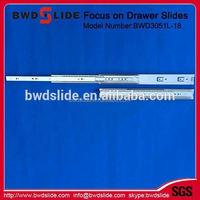 35mm 3/4 extension ball bearing slide drawer slide machinery