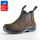 Full nubuck leather TPU sole no lace safety boots