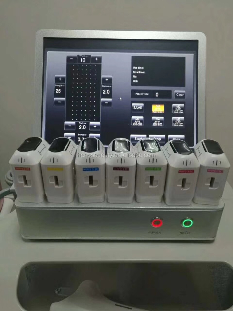 3D Hifu Face Body Lift HIFU Machine 8 Cartridges 11 Lines Portable HIFU Anti-Wrinkle Machine