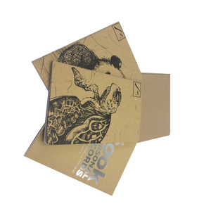 New promotional best school kraft paper notebook printing,exercise spiral notebook