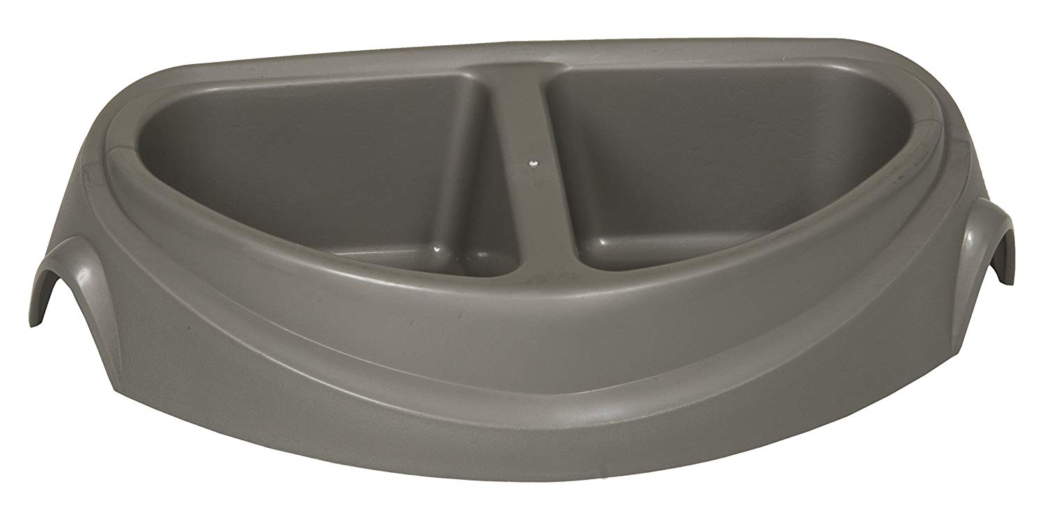 Petmate Large Double Diner Heavy-Weight Microban Pet Dish 23181