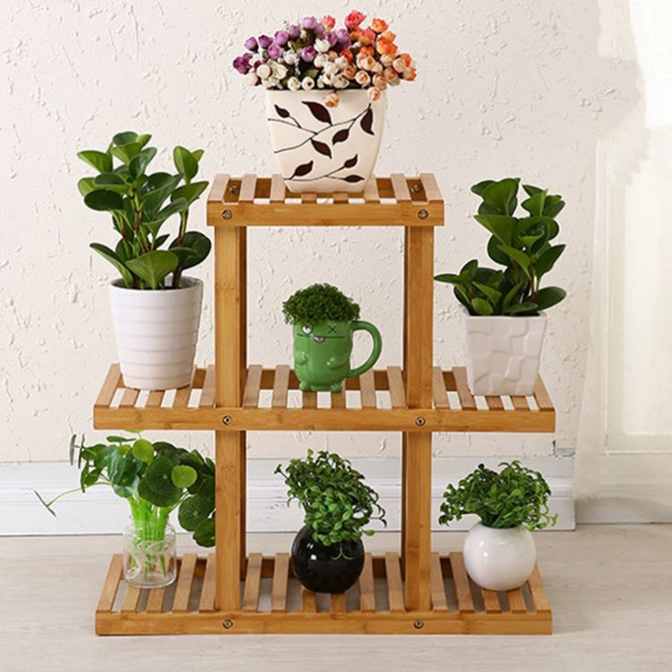 Bamboo Flower Pot Holder Buy Wooden Flower Pot Holder