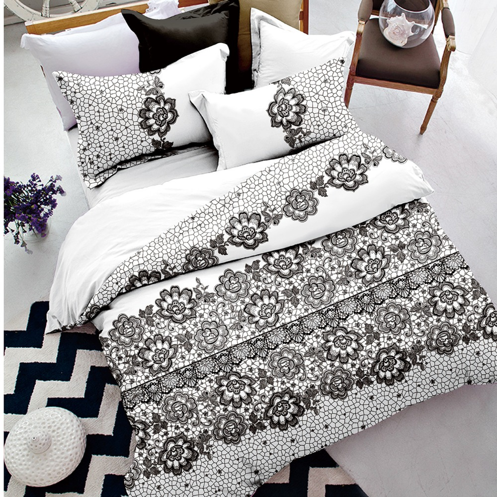 2018 comforter duvet cover set bedding bedsheets 100% polyester bedding set with good price