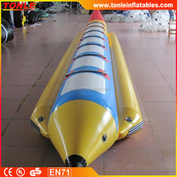 Hight quality adult inflatable banana boat for sale