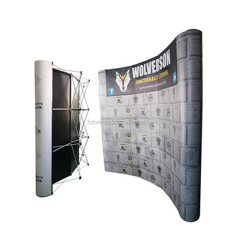 Trade Show Backdrop Stand Booth Tension Fabric Pop Up Display