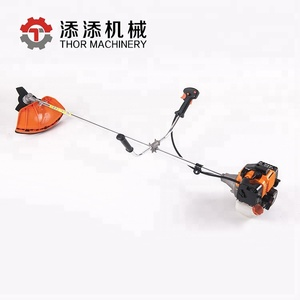 kasei 43cc gasoline knapsack long handle manual grass mini motor gasoline brush cutter