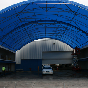Container Canopies/Clear-span Structures/Storage Shelters/industrial fabric buildings