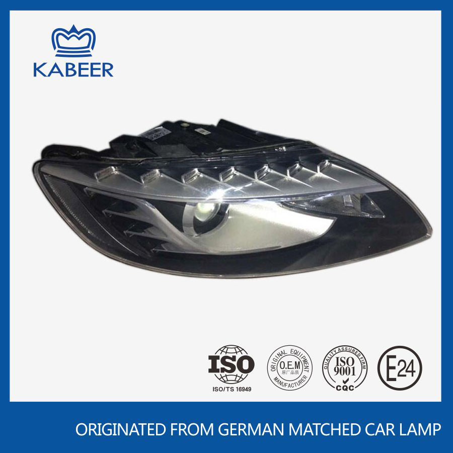 Guangzhou auto factory supply high quaility auto spare parts headlight car headlight for Audl Q7