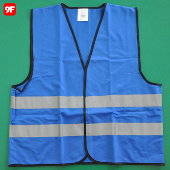 Wholesale Chinese Clothing Manufacturers Blue Safety Warning Vest - Buy  Blue Safety Vest,Chinese Clothing Manufacturers,Work Vest Product on