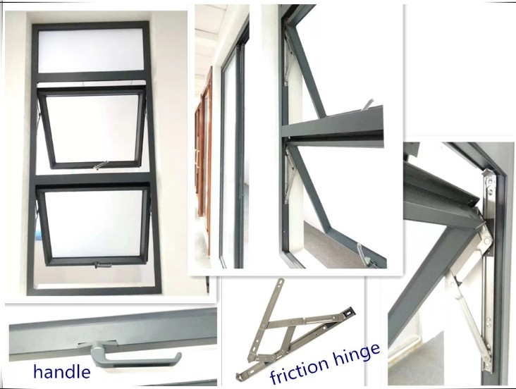 product-High Quality Aluminum Double Tempered Glass With Factory Price Hung Window For Hot Sale-Zhon-1
