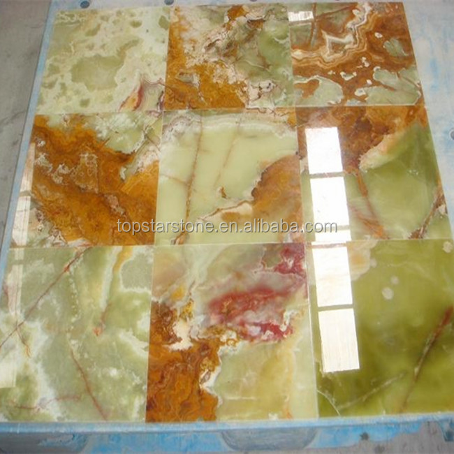 Emerald Green Marble Onyx Tile