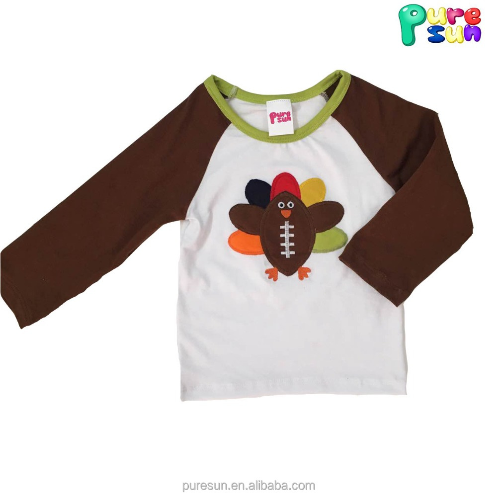 cozy fresh discount shop official shop Lovely Baby Boy 100% Cotton Long Sleeve Printing Cute Turkey ...
