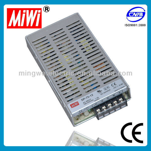 SP-75-12 Industrial Single Led SMPS Switching Supply Power 12V