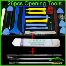 26 in 1 Opening Tools Repair Tools Phone Disassemble Tools set Kit For iPhone iPad HTC Cell Phone Tablet PC