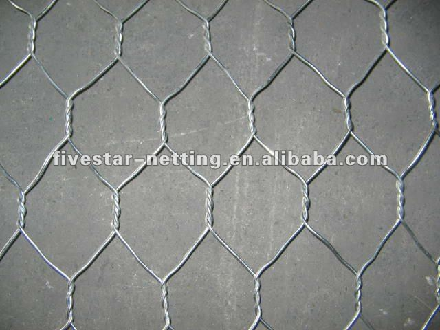 galvanised hexagonal wire mesh for chicken