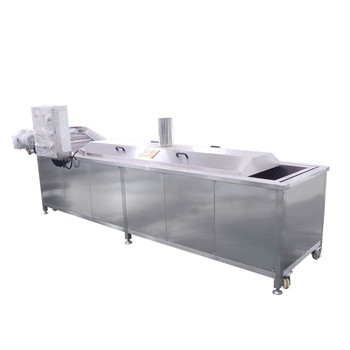 CE Approved Stainless Steel Continuous Potato Blanching Machine