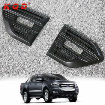 Car Exterior Accessories Chrome Side Lamp Cover Body Kits For Ford Ranger T6 T7 Buy Plastic