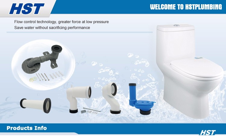 Hp113 Pp Wc Pan Connectortoilet Pan Connection Pipe - Buy Toilet