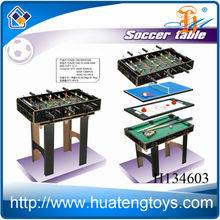 Funny wooden 4 in 1 game table,multi game table for adult H134603