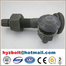 ASTM A325/ASTM A490 high quality bolts and nuts for steel structure