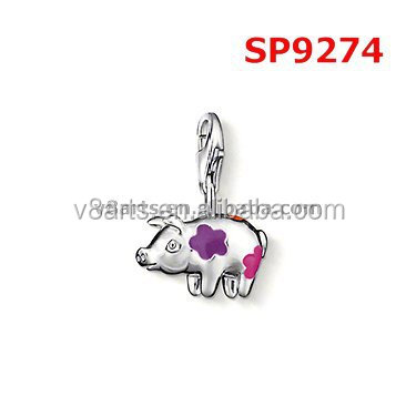 Wholesale alibaba charming jewelry heart charms bulk