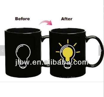 a7a4a84f120 Custom Print Color Changing Ceramic Mugs Magic Mug Change Color Mug, View  change color mug, no Product Details from Jilin Province Baiding Trade Co.,  ...