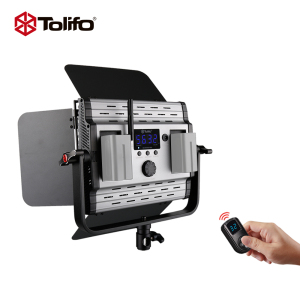 Tolifo Manufactory 500 Bi-Color Led Camera Light Led Video Studio Light GK-600MB Pro Special For Photographic Videography