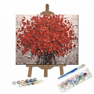 Frameless Tree of Life Full Accessories Set DIY Oil Painting by Numbers