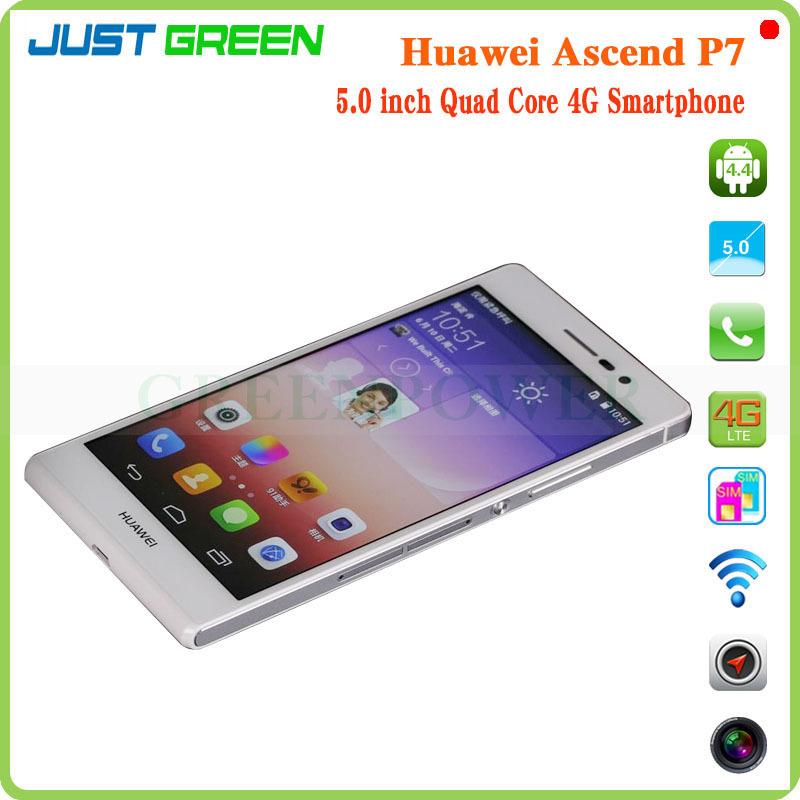 37bfcba43c173 Huawei Ascend P7 4G Smartphone Kirin910T Quad Core 5 1920x1080P 2GB RAM  16GB ROM 13MP Camera