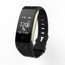 2018 newest Real-Time Heart Rate Monitor IP68 Waterproof s2 smart bracelet