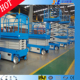 Self Propelled Mobile Electric Scissor Warehouse Lifting Equipment for Japan