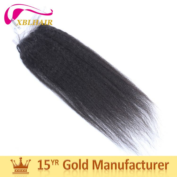 XBL factory various styles one donor bundles pure kinky straight clip in hair extensions