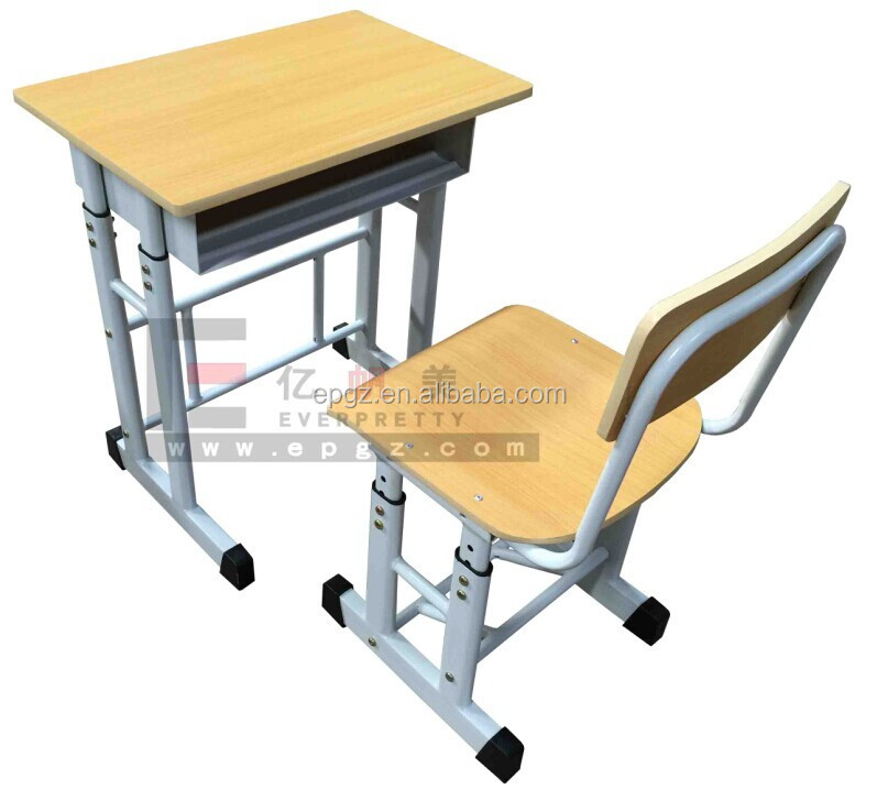 High Quality Pictures, Height Adjustable Desk And Chair Discount School Furniture  Classroom Furniture