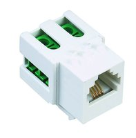 RJ11 CAT3 Keystone For Standard Wall Plate