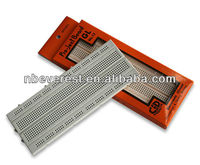 self adhesive back plastic Solderless Breadboard and Jumper Wire