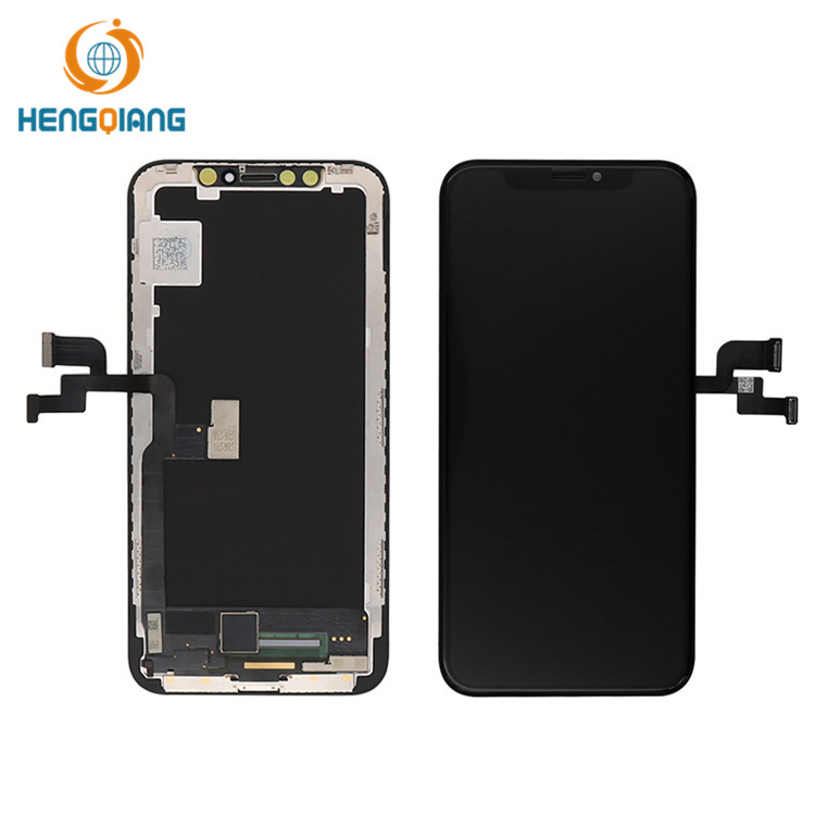 HQ soft OLED mobile phone lcd for iphone x xs LCD for iphone x xs display
