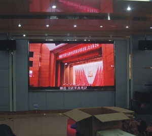 HD video P3 indoor electronic message boards for hire